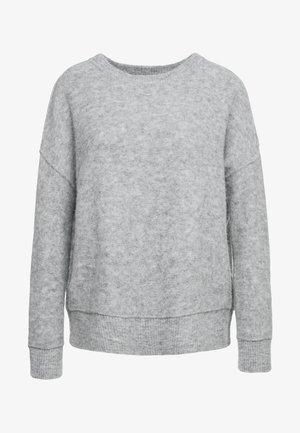 BIAGIO - Jumper - med grey melange