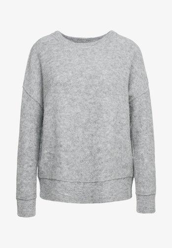 BIAGIO - Svetr - med grey melange
