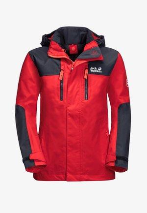 JASPER  - Waterproof jacket - peak red