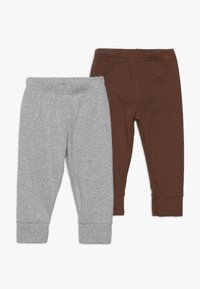 Carter's - BOY PANT BABY 2 PACK - Trousers - grey melange - 0