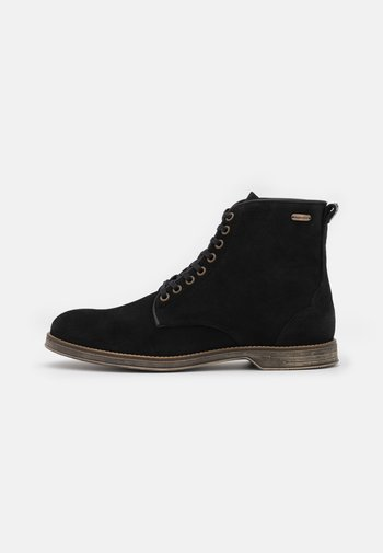 BOXXIE - Lace-up ankle boots - black