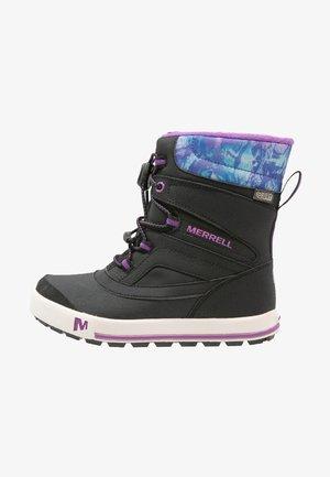 SNOWBANK 2.0 WTPF - Winter boots - black/berry