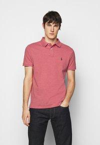 Polo Ralph Lauren - CUSTOM SLIM FIT MESH POLO - Polo shirt - highland rose - 0