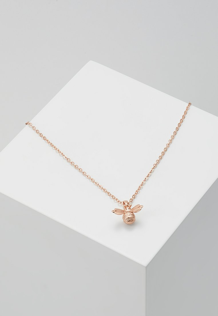 Ted Baker - BELLEMA BUMBLE BEE PENDANT - Necklace - brushed rose gold-coloured