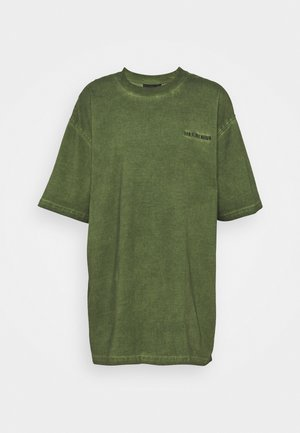 BOYFRIEND TEE - T-shirt con stampa - green crush