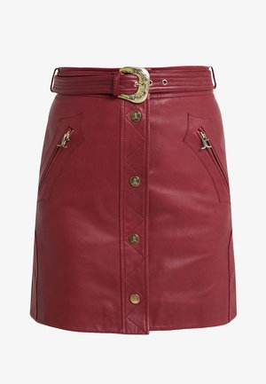 GONNA - Mini skirt - red