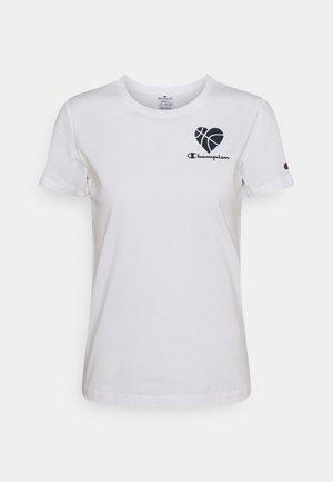 LOVE CREWNECK - T-shirts med print - white