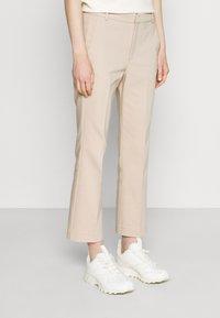 InWear - ZELLA KICKFLARE PANT - Trousers - sandstone - 0