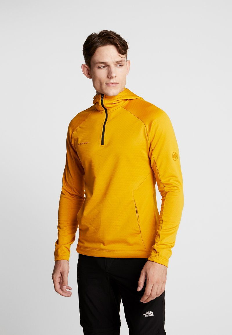 Mammut - RUNBOLD HOODY MEN - Bluza z kapturem - golden