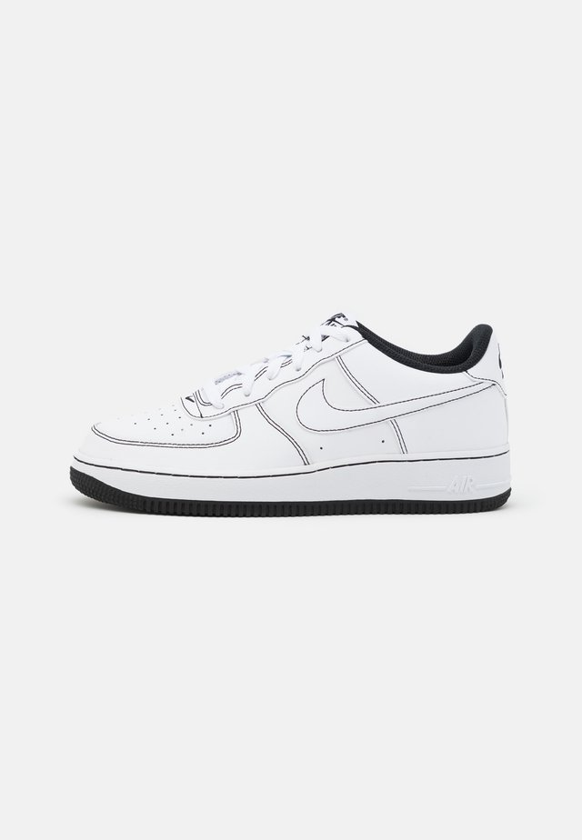 AIR FORCE 1 UNISEX - Sneaker low - white/black
