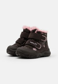 Superfit - GLACIER - Winter boots - braun/rosa - 1