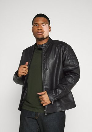 ROCKY JACKET - Veste en similicuir - black