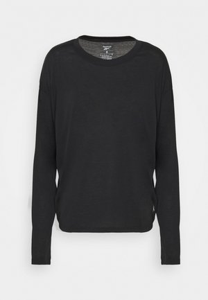SUPREMIUM LONG SLEEVE - Long sleeved top - black