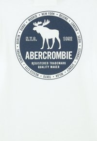 Abercrombie & Fitch - VINTAGE PRINT LOGO - Long sleeved top - white - 2
