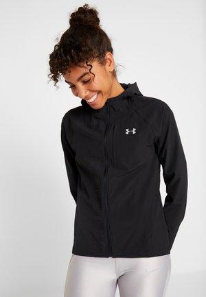 OUTRUN THE STORM  - Sports jacket - black