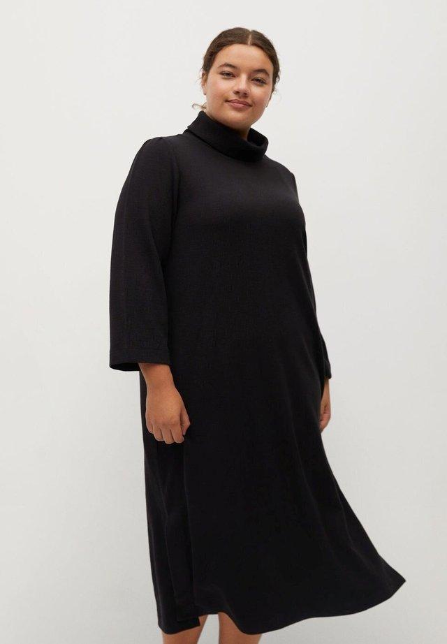 BLUEST-I - Jumper dress - schwarz