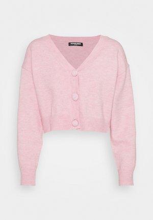 EFFY CARDI - Kardigan - pink