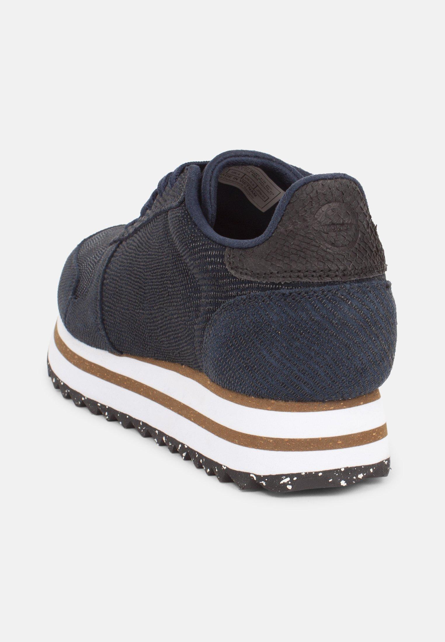 Woden YDUN PEARL II PLATEAU Sneaker low blau