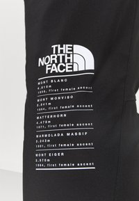 The North Face - GLACIER PANT - Kangashousut - black - 3
