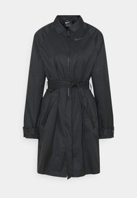 Nike Sportswear - Trenchcoat - black/iron grey - 4