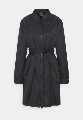 Trenchcoat - black/iron grey