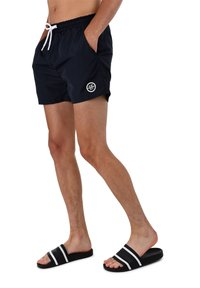 AÉROPOSTALE - Swimming shorts - navy - 1