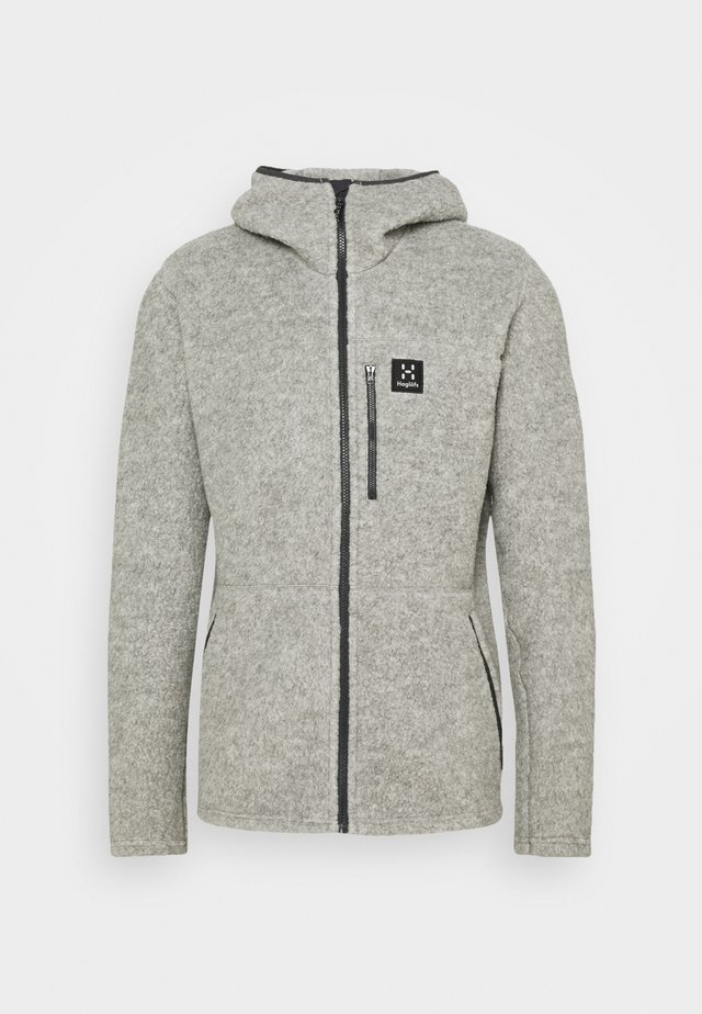 HOOD MEN - Forro polar - grey melange