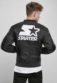Starter - Bomber Jacket - black - 2