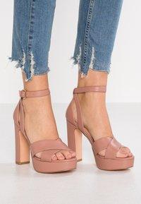 Even&Odd - Sandalen met hoge hak - light pink - 0