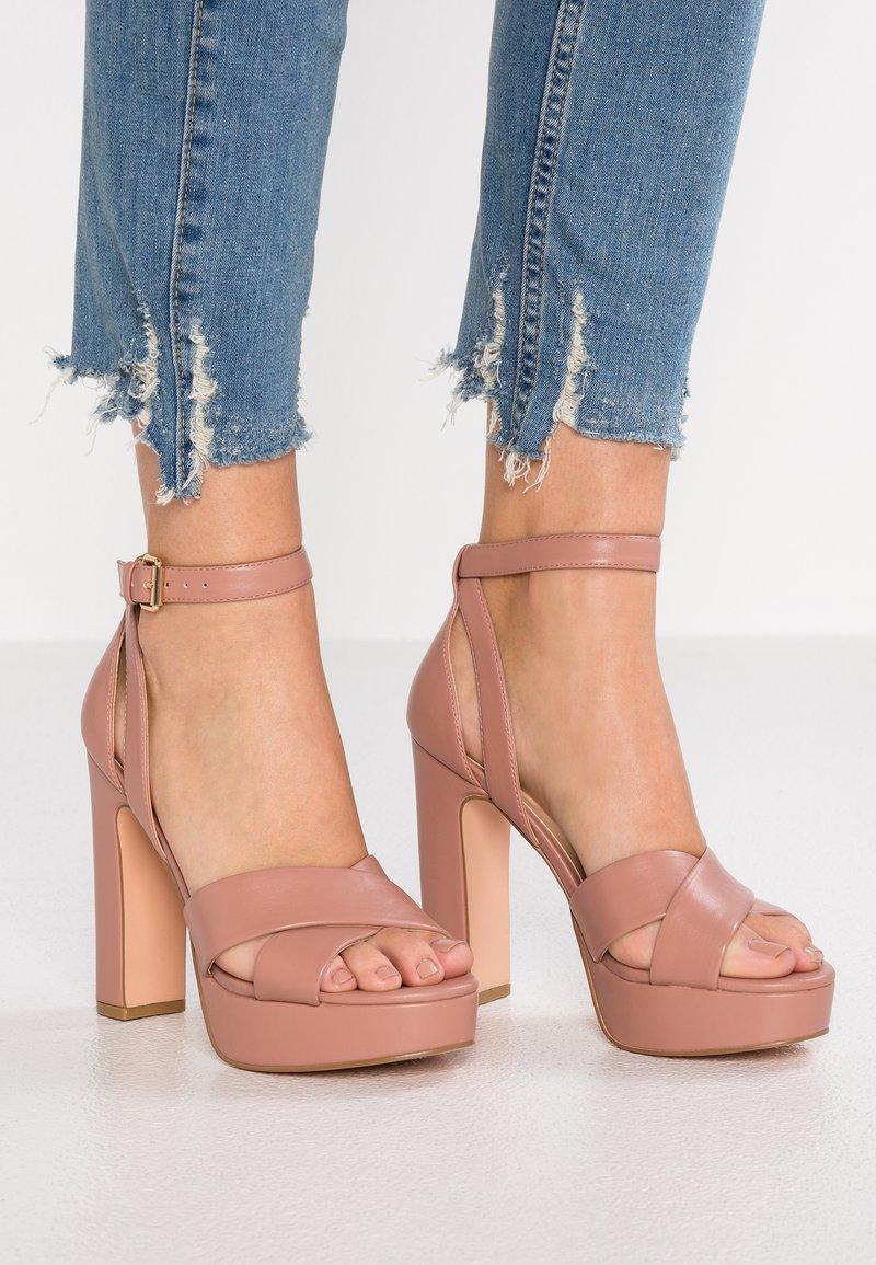 Even&Odd - High heeled sandals - nude