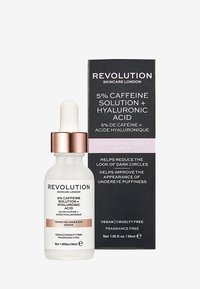 Revolution Skincare - REVOLUTION SKINCARE TARGETED UNDER EYE SERUM 5% CAFFEINE SOLUTION + HYALURONIC ACID - Soin des yeux - - - 1