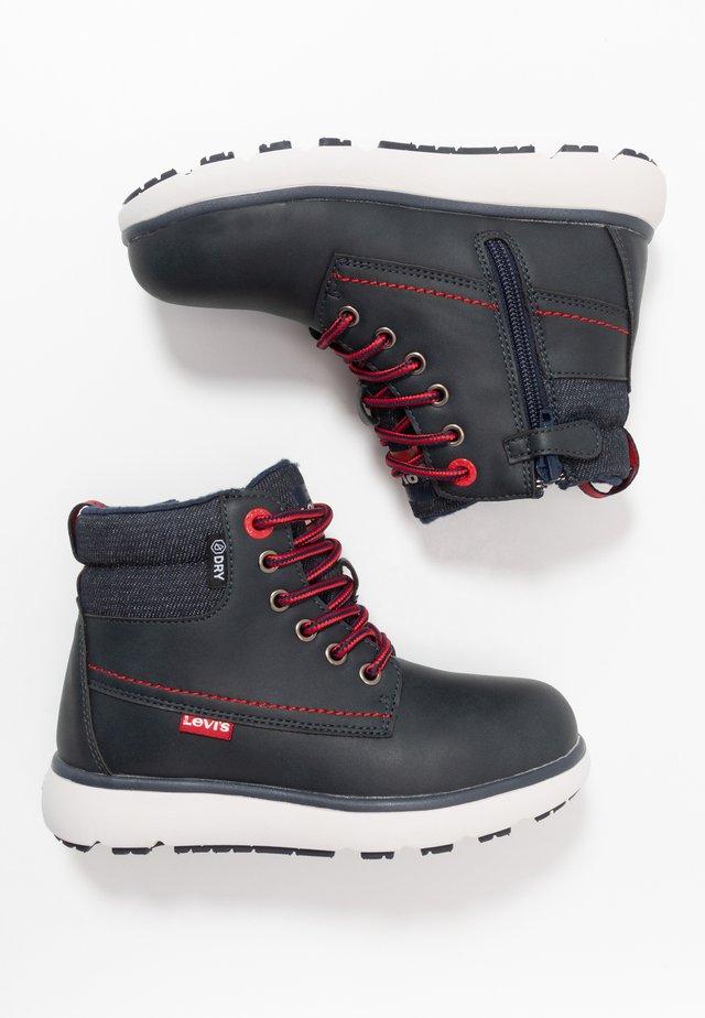 VERMONT WPR - Šněrovací kotníkové boty - navy