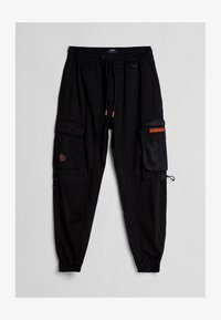 Bershka - Cargo trousers - black