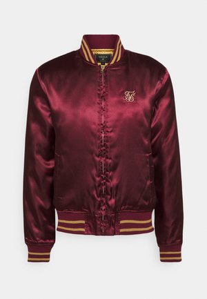 JACKET - Giubbotto Bomber - burgundy/gold-coloured