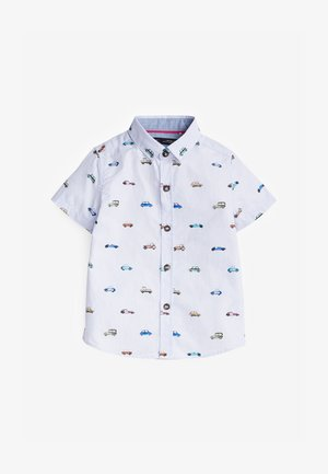 CAR PRINT - Shirt - blue