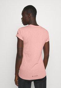 Vaude - WOMEN'S CYCLIST - T-shirt con stampa - soft rose - 2