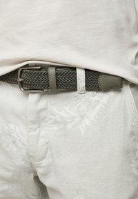 s.Oliver - Braided belt - khaki - 2
