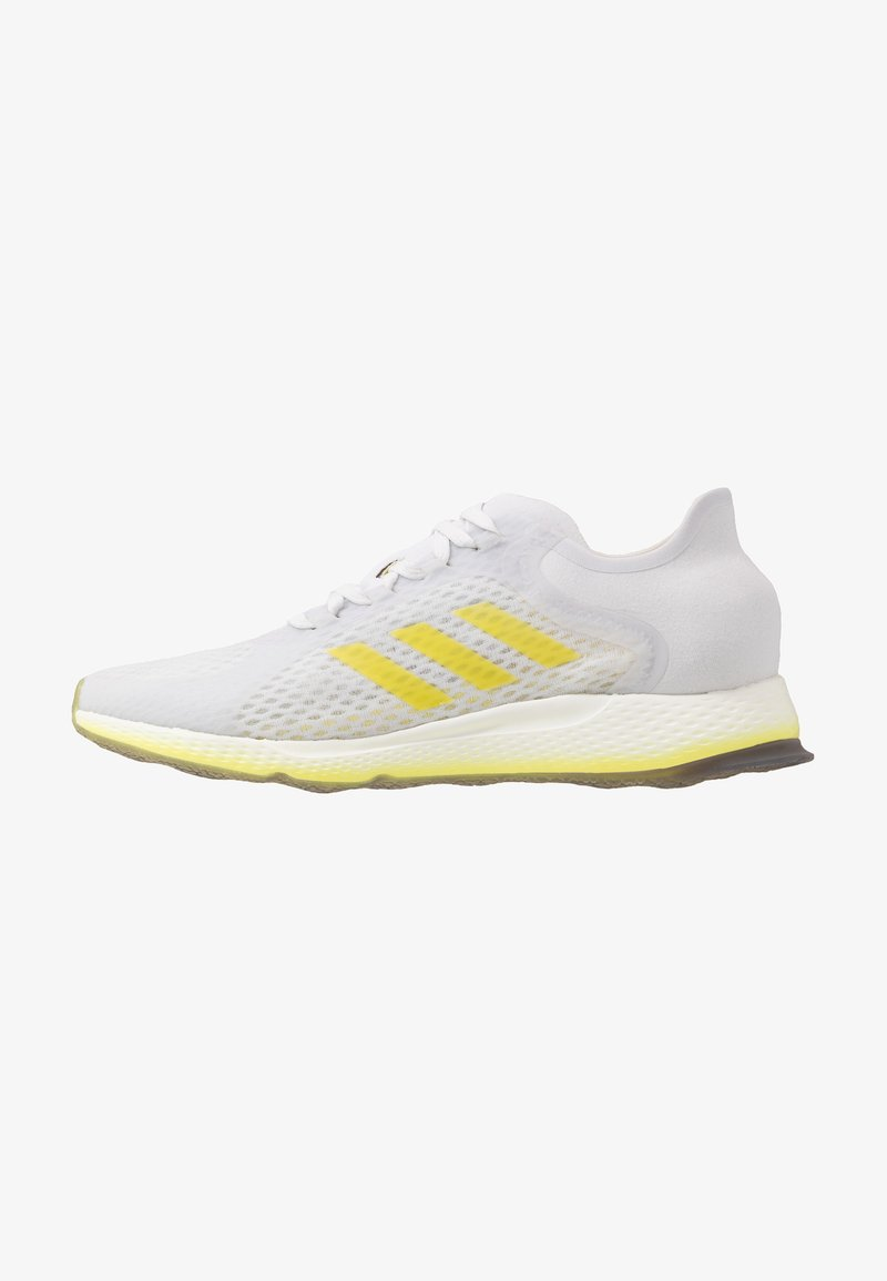 adidas Performance - FOCUS BREATHE - Neutral running shoes - grey/shock yellow/cloud white