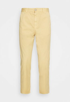 UNIVERSE PANT CROPPED - Trousers - curry