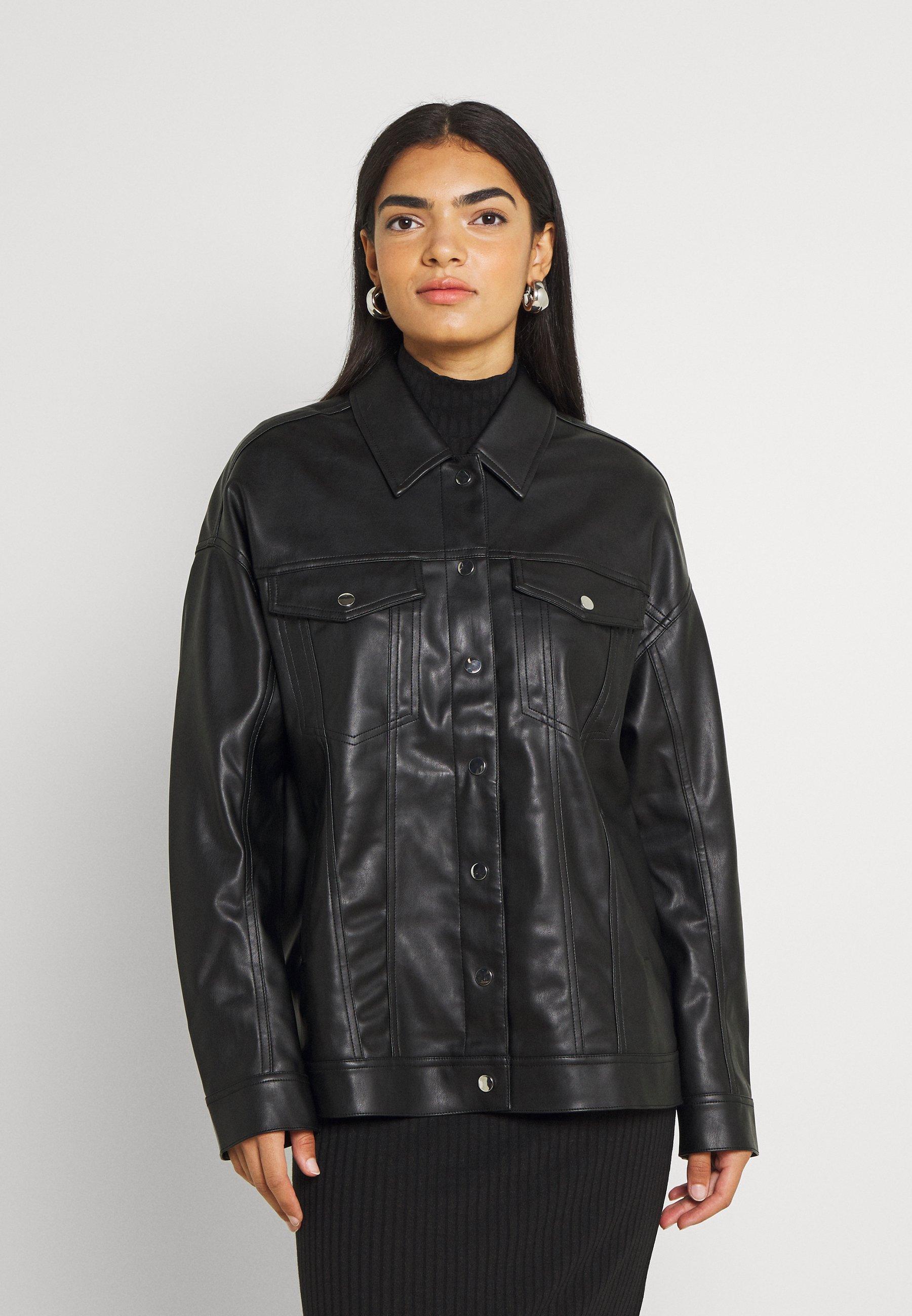 Women JACKET - Faux leather jacket