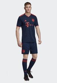 adidas Performance - FC BAYERN THIRD SHORTS - Short de sport - blue - 1