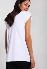 Urban Classics - DAVID BOWIE - Print T-shirt - white - 2