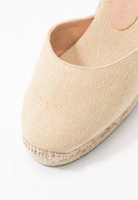 Castañer - CARINA  - High heeled sandals - natural - 2
