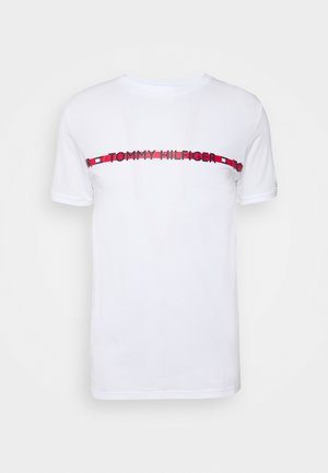 NATURE TECH TEE LOGO - Pyžamový top - white