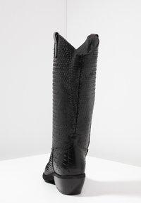 Felmini - EL PASO - Cowboy/Biker boots - naja/black - 5