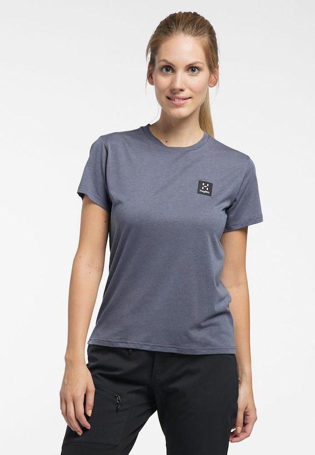 LYOCELL H TEE - Basic T-shirt - dense blue