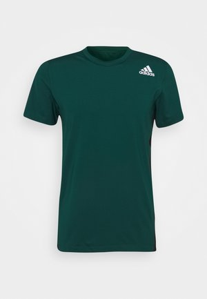 ALL ME DESIGNED TRAINING AEROREADY SLIM - T-shirts basic - collegiate green