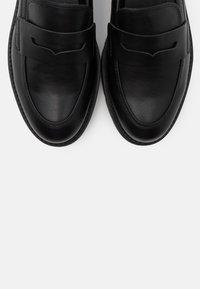Esprit - PISA LOAFER - Slippers - black - 5
