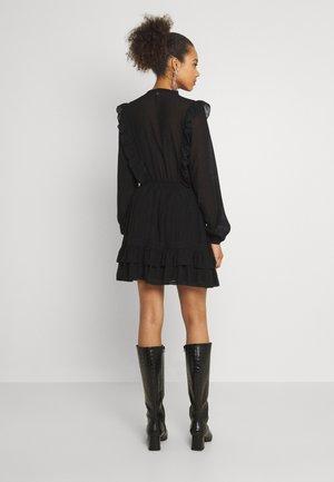 FIFI DRESS - Shirt dress - black