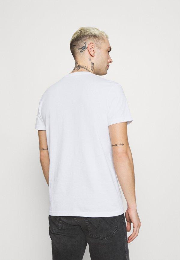 Lee TWIN CREW 2 PACK - T-shirt basic - black/white/czarny Odzież Męska FFIT